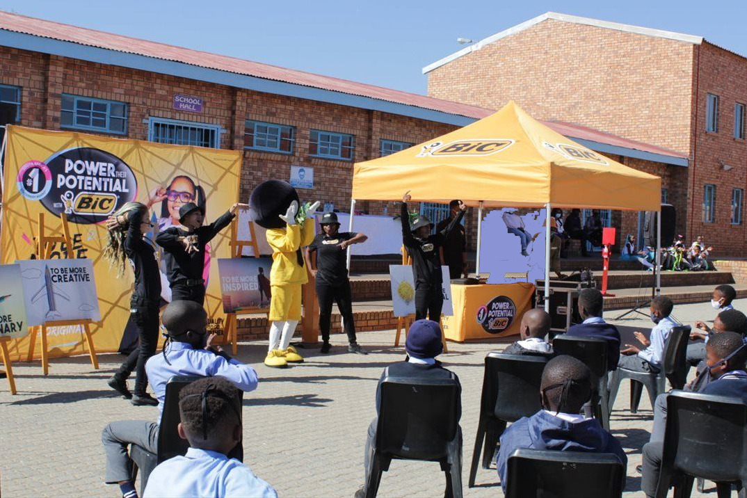 BIC supports education in SA through its Buy a Pen, Donate a Pen initiative