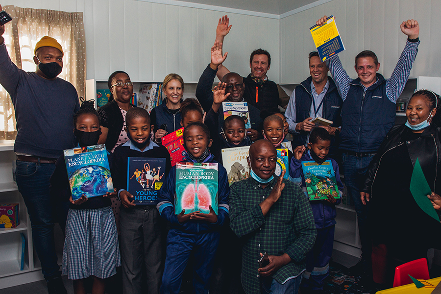 Gugulethu's Mseki Primary gets the gift of reading this Youth Month